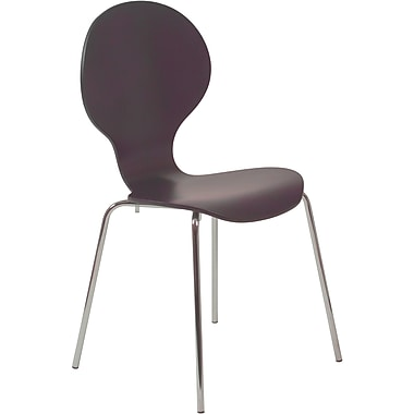 Euro Style™ Bunny Laminated Wood Dining Side Chair, Wenge