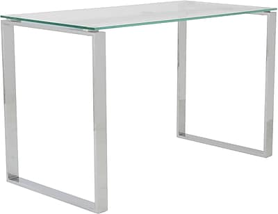 Eurostyle Diego Writing Desk, Clear (09811CLR)