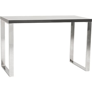 Eurostyle Dillon Standard Writing Desk, Gray Lacquer (09815GRY)