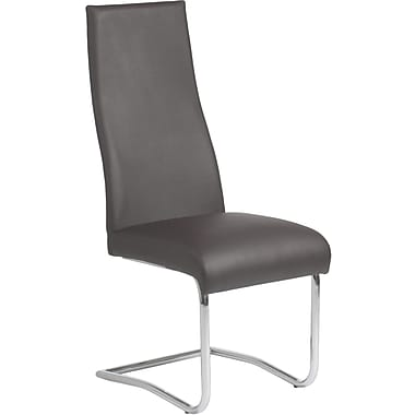 Euro Style™ Rooney Leatherette High Back Dining Side Chair, White