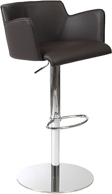 Euro Style™ Sunny Leatherette Bar/Counter Stool, Brown