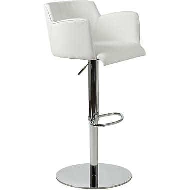 Euro Style™ Sunny Leatherette Bar/Counter Stool, White