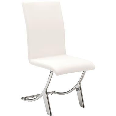 Euro Style™ Cordelia Leatherette Dining Side Chair, White