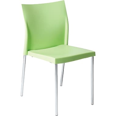 Euro Style™ Yeva Polypropylene Dining Side Chair, Green