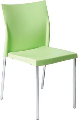 Euro Style™ Yeva Polypropylene Dining Side Chair, Green