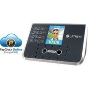 Lathem® Face Recognition Biometric Time and Attendance System (FR650)