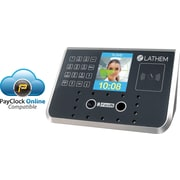 Lathem 100-Employuee Facial Recognition Time and Attendance System, Black (FR700)
