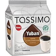 Tassimo Yuban 100% Colombian Coffee, 14 T-Discs/Pack
