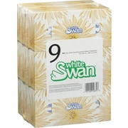 White Swan 2-Ply Facial Tissue, 9 Boxes/Pack