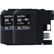 Brother Genuine LC1032PKS Black High Yield Original Ink Cartridges Multi-pack (2 cart per pack)