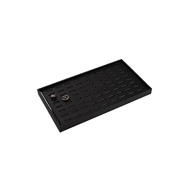 100 Slot Ring Tray with Insert, Black