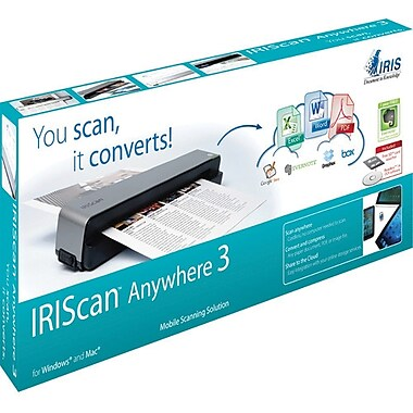 IRIScan™ Anywhere 3 Portable Scanner