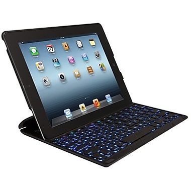 ZAGGkeys PROfolio+ Case for iPad, Black