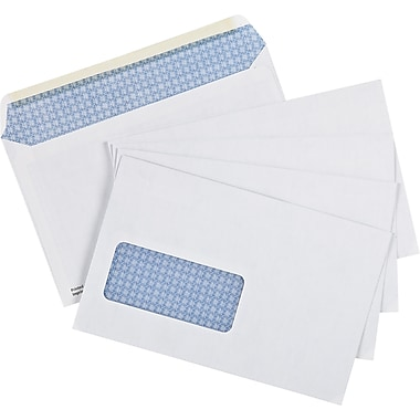 staples envelopes white t4 5 3 4 x 9 25 box gummed staples