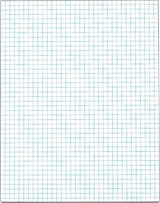 pacon u00ae quadrille ruled graph paper