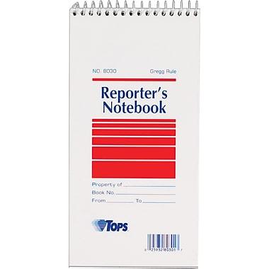 TOPS® Reporter's Wirebound Notebook, 4