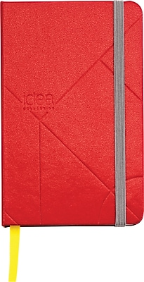 Idea Collective® Mini Hardbound Journal, Wide Rule, Red