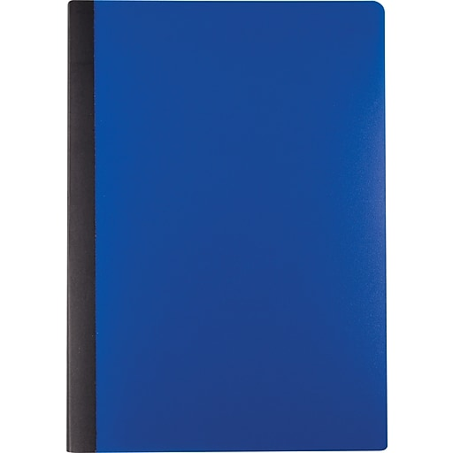 staples mini poly composition notebook blue 5 x 7 each 24490