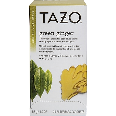 Tazo - Thé vert au gingembre