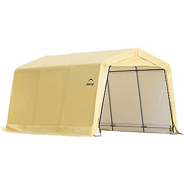 ShelterLogic® - Abri pour voiture, brun clair, 10 x 15 x 8 pi