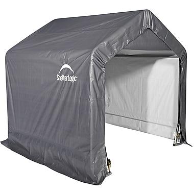 ShelterLogic® – Abri pointu Shed-in-a-Box, 6 x 6 x 6 pi, gris