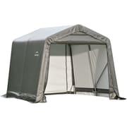 ShelterLogic® 8' x 8' x 8' Peak Style Shelter, Grey