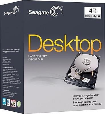 Seagate 4TB Desktop Internal Hard Drive