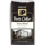 Peet's House Blend, Deep Roast Ground Coffee, 12 oz
