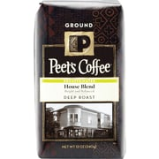 Peet's Deep Roast Ground Coffee, 12 oz. Bags
