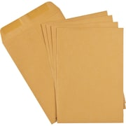 "Staples Envelopes Kraft Catalogue 7-1/2"" x 10-1/2"", 100/Box - Gummed"