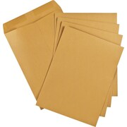 "Staples® Envelopes Kraft Catalogue, 9"" x 12"", 100/Box - Gummed"