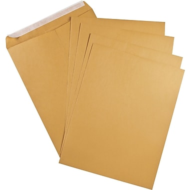 Staples® Envelopes Kraft Heavyweight 12