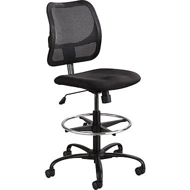 Safco® 3395BL Vue Armless Extended Height Stool, Black