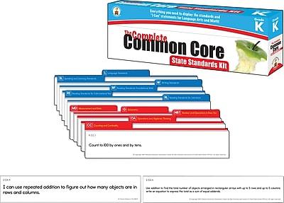 Carson-Dellosa™ The Complete Common Core State Standards Kit, Grade K