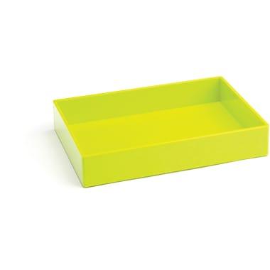 Poppin Medium Accessory Tray, Lime Green, (100239)