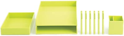 Poppin Lime Green Office Supplies