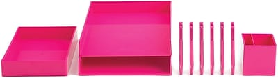 Poppin Pink Office Supplies