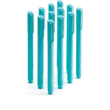 Poppin Aqua Signature Ballpoint Pens