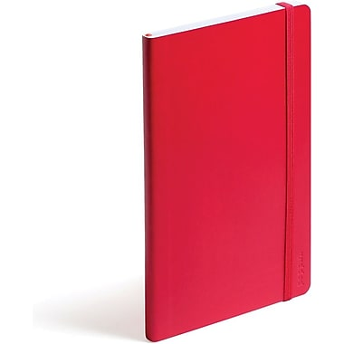 Poppin Medium Soft Cover Notebook, Red (100005)