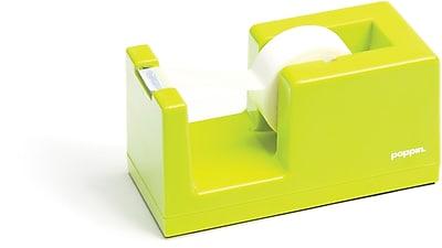 Poppin Tape Dispenser, Lime Green, (100169)