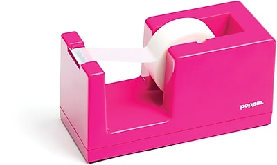 Poppin Tape Dispenser, Pink, (100165)