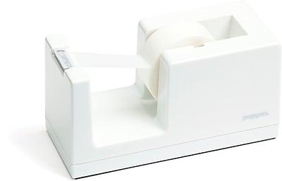Poppin Tape Dispenser, White, (100162)