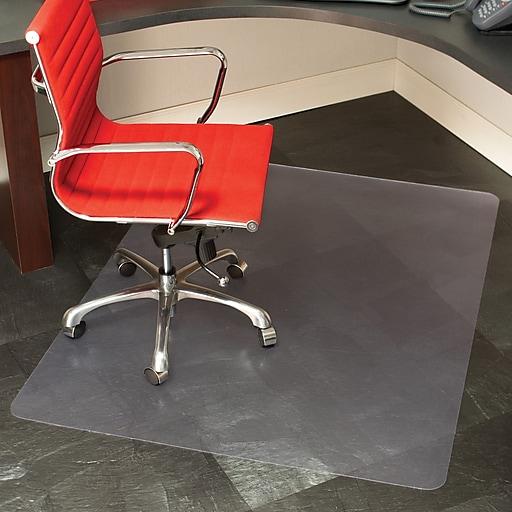 staples hard floor chair mat 46x60 staples. Black Bedroom Furniture Sets. Home Design Ideas