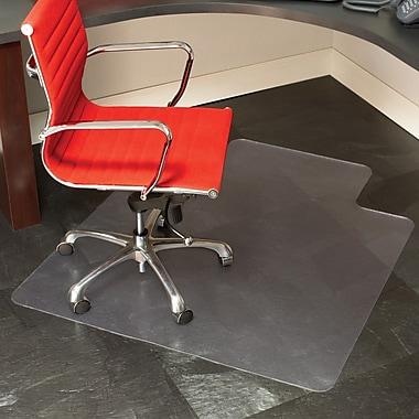 "Chair Mat With Lip staples 45"" x 53"" hard floor chair mat with lip | staples®"