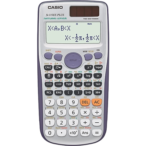 Casio Fx 115es Plus Scientific Calculator Staples