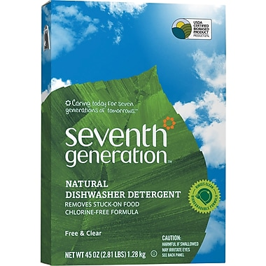 Seventh Generation® Natural Automatic Dishwasher Powder, 45 oz.