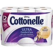 KleenexMD – Papier hygiénique Cottonelle Ultra-Soft, 12 rouleaux/pqt
