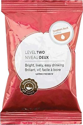 Seattle's Best Premeasured Coffee Packs, Level 2, 2 oz, 18/Box (195891) SEA11008556