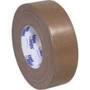 """Tape Logic Economy Cloth Duct Tape, Brown, 2"""" x 60 Yards, 3 Rolls"""
