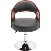 LumiSource Leatherette Cello Lounge Chair (CHR-CLO)